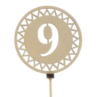 """Топпер """" 9 """" №1"""
