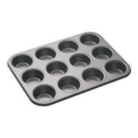 Форма для выпечки металл (противень) для 12 кексов 5,5х3 см