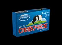 """Масло сливочное """"Экомилк"""" 82,5% 450 гр"""