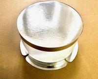 Коробка-тубус 200/213мм (серебро/прозрачная)