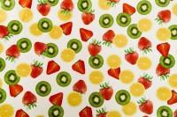 Бордюрная лента (фрукты)  h=50мм  w=40мкм (10м)