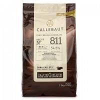 "Шоколад ""Barry Callebaut"" темный 54% 2,5 кг"