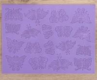 """Коврик для айсинга """"Бабочки"""" 39*29,5 см"""
