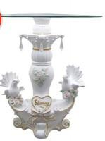 Подставка Свадебные голуби Н36*35 см