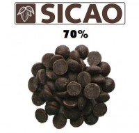 Шоколад Sicao горький 70,1% 500 гр