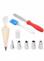 Набор инструментов для работы с кремом 10 предметов
