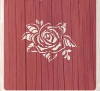 "Трафарет ""Цветы. Бутон розы"""