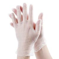 Перчатки виниловые неопудренные М (100шт)