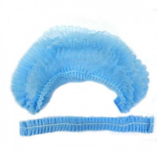 Кондитерская шапочка голубая (стандарт 56/60) 10шт