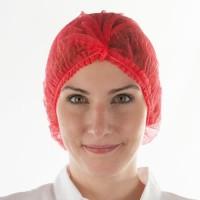 Кондитерская шапочка красная  (стандарт 56/60) 10шт