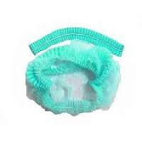 Кондитерская шапочка зеленая  (стандарт 56/60) 10шт