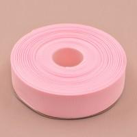 Репсовая лента 25мм (розовая)32м