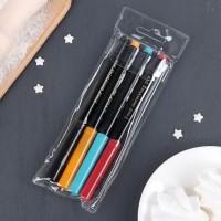 Фломастеры для рисования цветные 18,7х6,5х1,5 см (набор 4 шт)