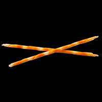 """Шоколадные палочки """"MonaLisa"""" (бело-оранжевые) 100 гр"""