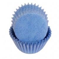 Капсула для кексов 50/35мм синяя 50шт