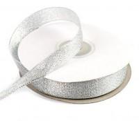 Лента парчовая (серебро) 12мм