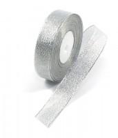 Лента парчовая (серебро) 25мм