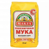 Мука пшеничная Макфа (2 кг)