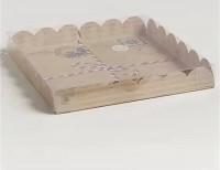 "Коробка для печенья ""С любовью"" 210х210х30мм"