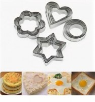 Формы для печенья металл 3/7 см (набор 12 шт)
