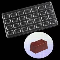 """Форма для шоколада поликарбонат """"Прямоугольник"""" 13,5х27,5 см"""